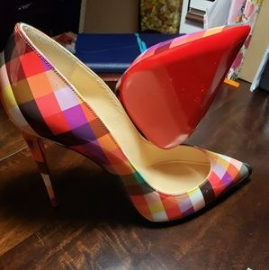 Multicolored Christian Louboutin Pigalle Follies